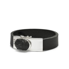 Silk Silk armband Gautama Black 531