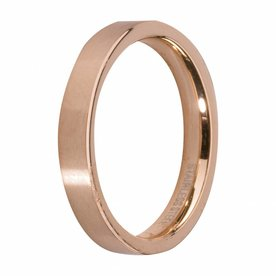 Melano MelanO Side Ring Rosé Gold Plated Gloss