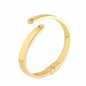Melano Melano Vivid armband Violetta Goud kleur