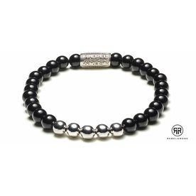 Rebel and Rose Rebel & Rose Black Panther Silver herenarmband RR-60001-S