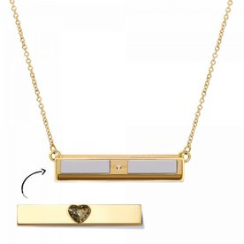 Mi Moneda Take What You Need collier Goud