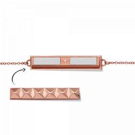 Mi Moneda Take What You Need armband Rosé