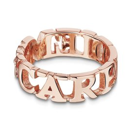 Mi Moneda Take What You Need ring Carpe Diem Rose