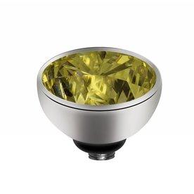 Melano Melano Twisted setting Zirconia Lime