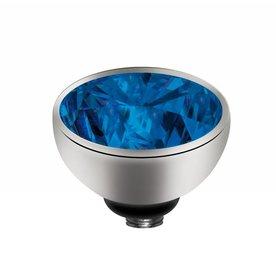 Melano Melano Twisted zetting Zirkonia Blue