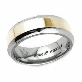 Boccia Boccia titanium ring 0110-01