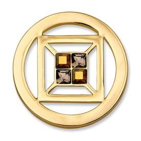 Mi Moneda Mi-Moneda munt Cubo Small goud