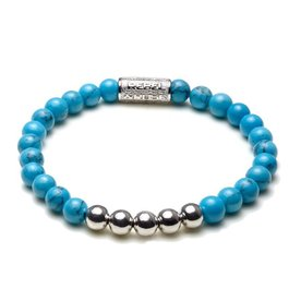 Rebel and Rose Rebel & Rose Turquoise Delight Silver RR-60009-S