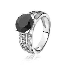 Zinzi Zinzi zilveren ring ZIR711