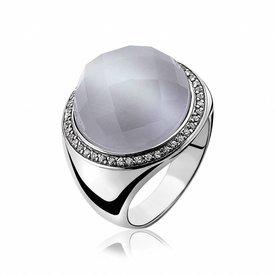 Zinzi Zinzi silver ring ZIR801
