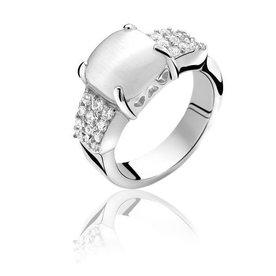 Zinzi Zinzi zilveren ring ZIR667