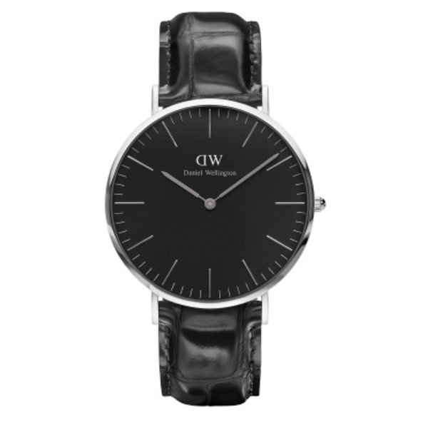 Daniel Wellington Daniel Wellington classic black Reading silver DW00100135