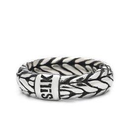 Silk S!lk zilveren ring 352