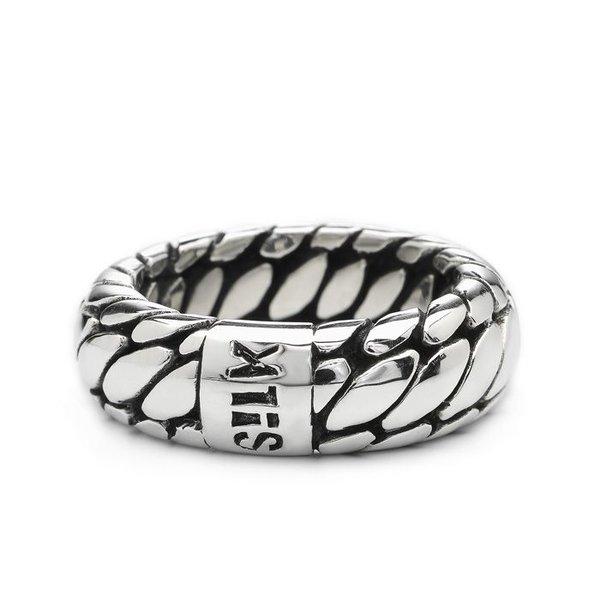 Silk S!lk zilveren ring 353