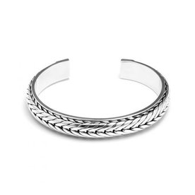Rebel and Rose Rebel & Rose Herakles silver herenarmband RR-BA001-S-65