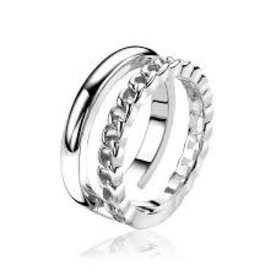 Zinzi Zinzi silver ring zir1297