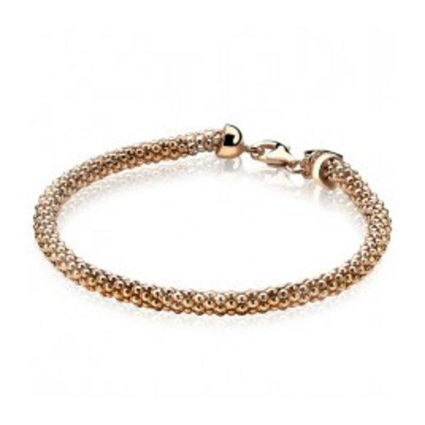 Zinzi Zinzi zilveren met rosé  armband zia1057R