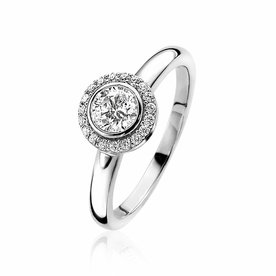 Zinzi Zinzi silver ring ZIR1392-54