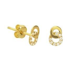 Gouden oorknoppen 40.19080