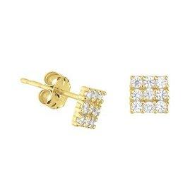 Golden earrings 40.19082