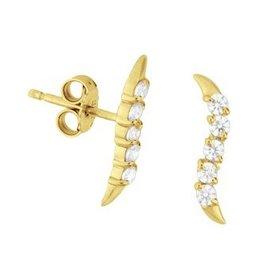 Gouden oorknoppen 40.18285