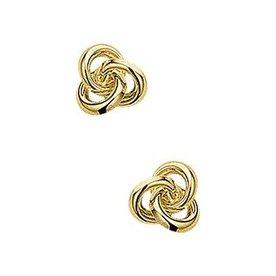 Goldene Ohrringe 40.18261