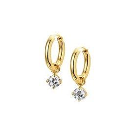 Gold earrings 40.18670
