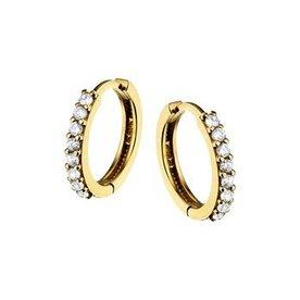 Golden earrings 40.18317