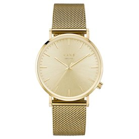 Kane watches Kane mens watch gold rush gold mesh GG900