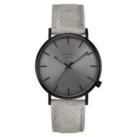 Kane watches Kane men's watch black out urban gray BO020