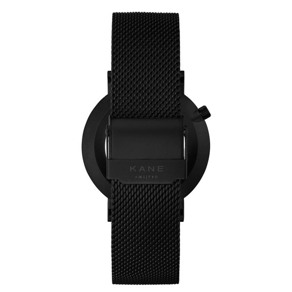Kane watches Kane herenhorloge black out mesh BO100