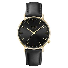 Kane watches Kane mens watch gold club classic black GB001