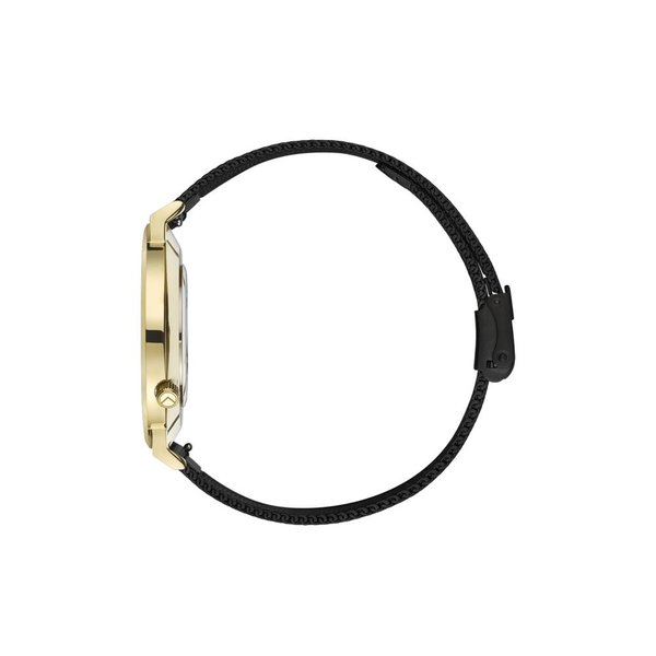 Kane watches Kane herenhorloge gold club black mesh GB100