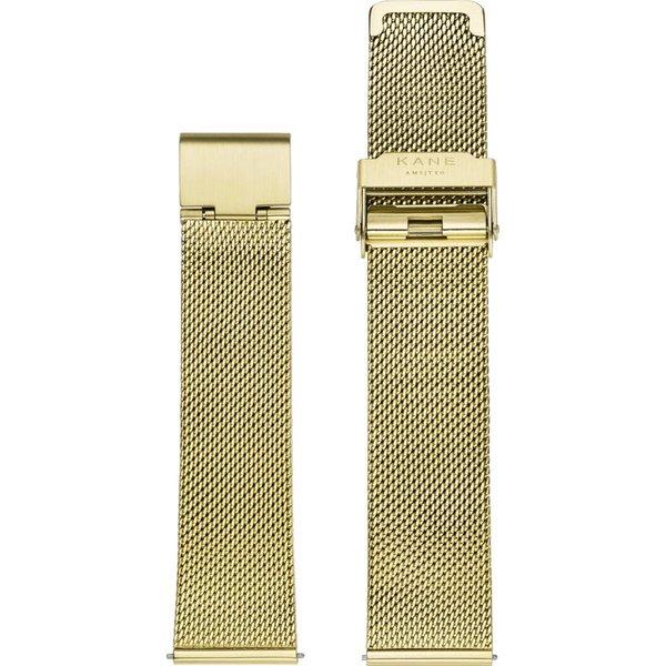 Kane watches Kane horlogeband geel mesh SM900