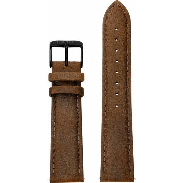 Kane watches Kane watch band vintage brown black SL150