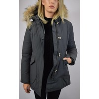 AIRFORCE 2 POCKET CLASSIC PARKA RF METAL GREY