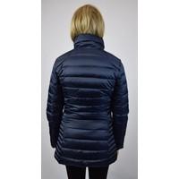EA7 Armani long down jacket Blue