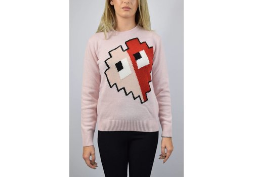 ICE PLAY ICE PLAY Pullover with video-game style Pink