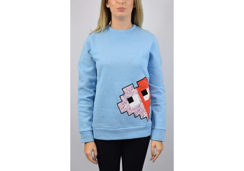 ICE PLAY ICE PLAY Pullover with video-game style Blue