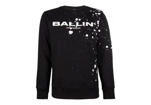 PURE WHITE PureWhite Ballin - Sweater black/spetter