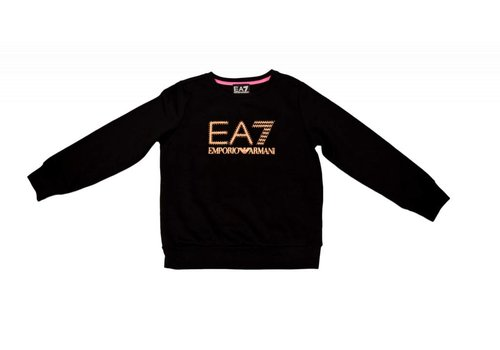 EA7 ARMANI EA7 GIRLS SWEATER BLACK