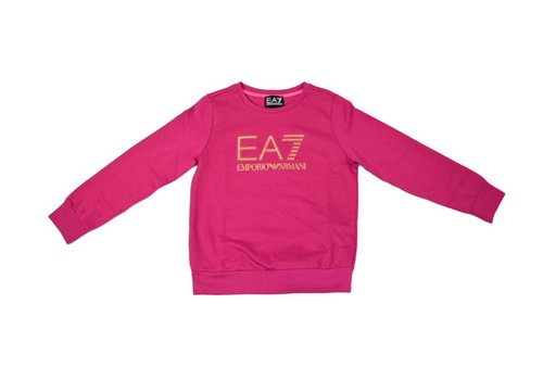 EA7 ARMANI EA7 GIRLS SWEATER ROZE