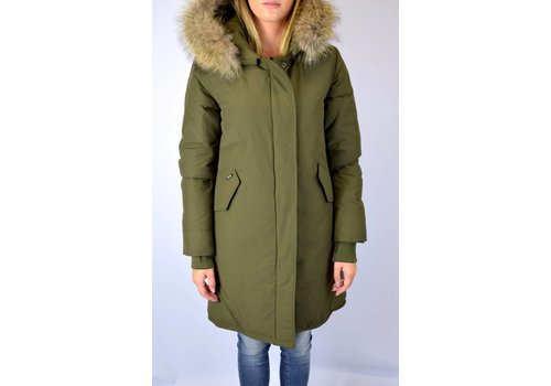 AIRFORCE AIRFORCE FISHTAIL LONG PARKA RF ARMY GREEN