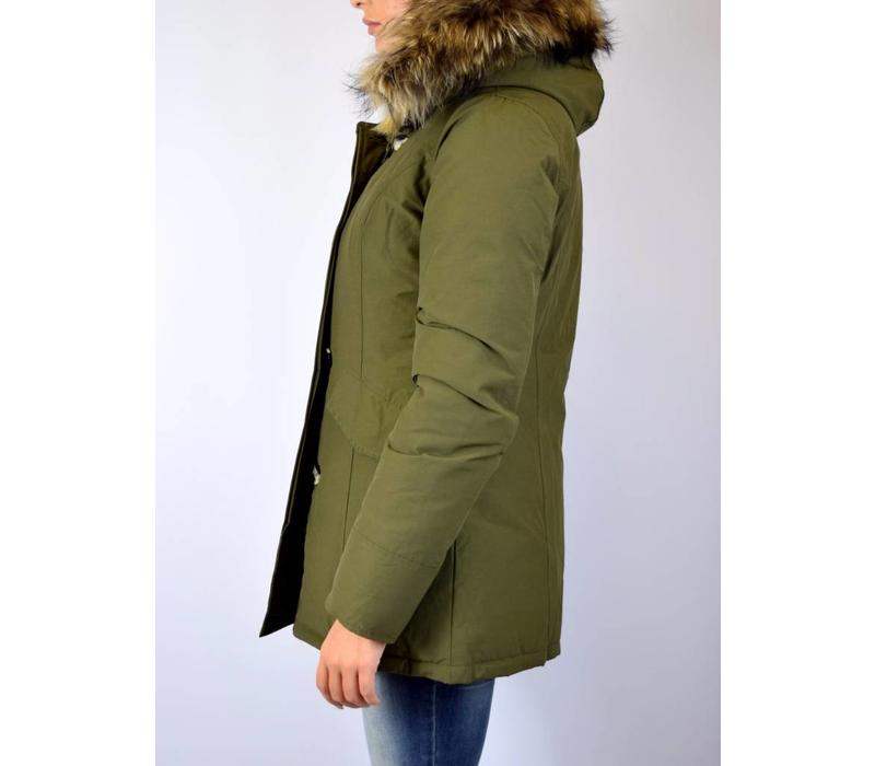 AIRFORCE 2 POCKET CLASSIC PARKA RF DARK OLIVE GREEN