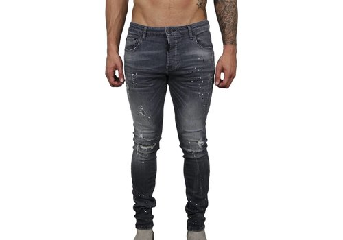 AB LIFESTYLE AB JEANS ROUGH GREY