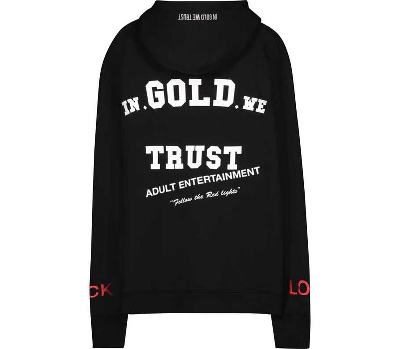 IN GOLD WE TRUST FUCK HOODIE