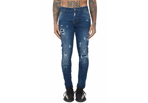 CONFLICT CONFLICT GLOCK17 JEANS BLUE