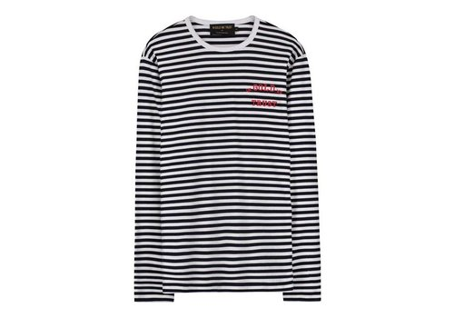 IN GOLD WE TRUST STRIPES T SHIRT