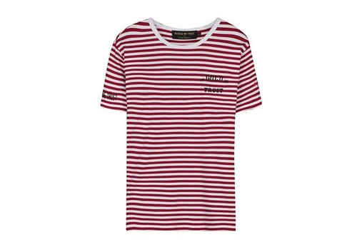 IN GOLD WE TRUST STRIPES T-SHIRT