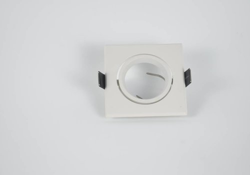 Inbouwspot wit vierkant